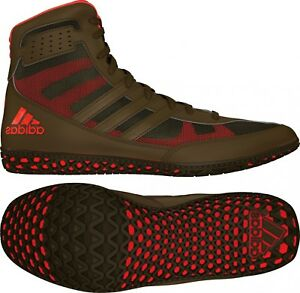 Details about Adidas Mat Wizard David Taylor Wrestling Boxing MMA Shoes Olive GreenOrange