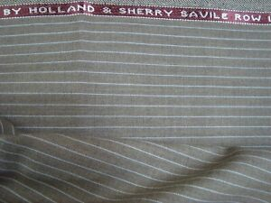 4-yd-HOLLAND-SHERRY-WOOL-FABRIC-Cool-Wool-Super-100s-7-oz-SUITING-144-034-BTP