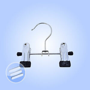 12 x Small Double Metal Clip Hangers   Scarfs, hats etc | eBay