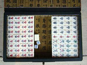 Mahjongg-Mahjong-Schriftzeichen-China-Asiatika-hh05m60