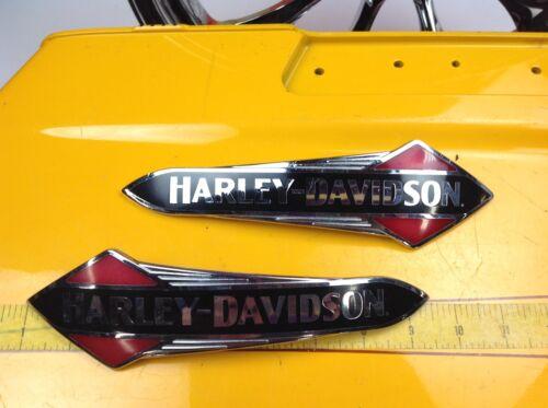 OEM 2018 Harley Softail Slim Gas Fuel Tank Emblems Badges Touring