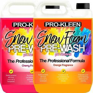 Snow-Foam-Car-Wash-10L-Thick-Wax-PH-Neutral-Valet-Pro-Kleen-Auto-Fast-Dispatch