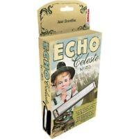 Hohner 455 Echo Celeste Tremolo Tuned Harmonica Key Bb, Includes Case, 455bx-bf on sale