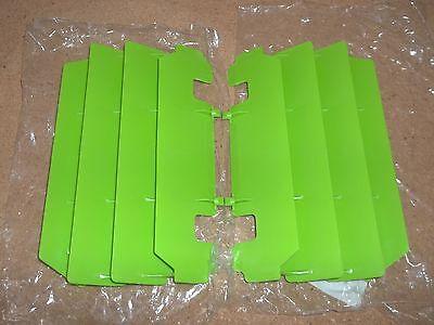 New Green Kawasaki Radiator Guards KX125 125 1994-2005 KX250 250 KX 1994-2004