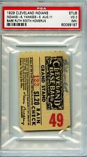 Babe Ruth 500 Homerun HR Ticket Stub. Pop 1 of 1. PSA 3
