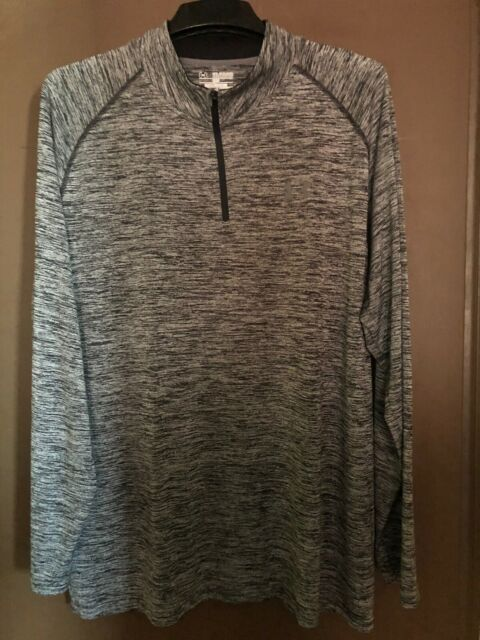 New! Mens UnderArmour 1//4 Zip Loose Fit LS Pullover Shirt!!**Choose Color//Size*