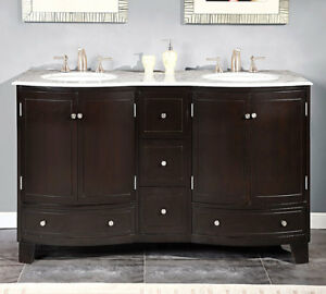 60-inch-Bathroom-Double-Vanity-White-Marble-Counter-Top-Dual-Sink-Cabinet-0703WM