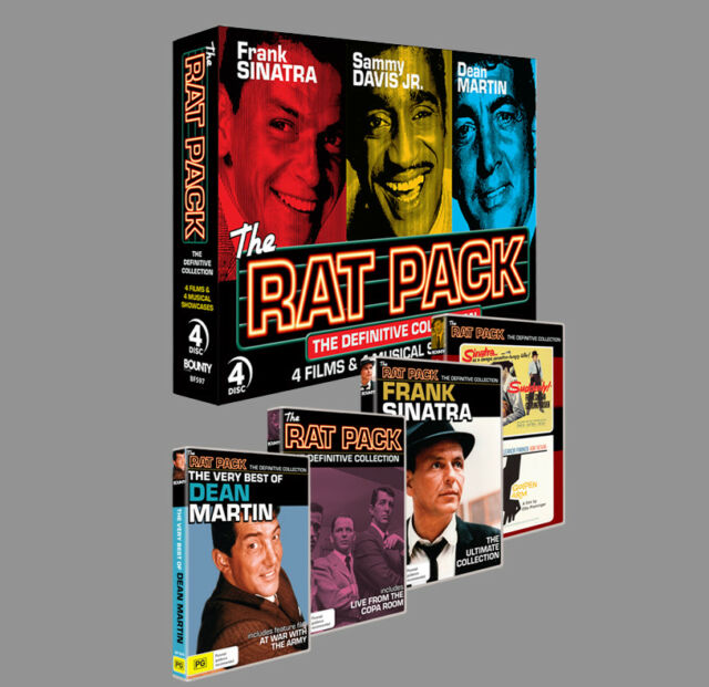 Rat Pack Collection (4 Discs) DVD * Bounty Films * REGION 4 BRAND NEW