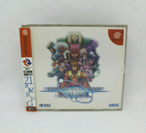 Sega-Dreamcast-Spiel-Phantasy-Star-Online-Spinecard-Japan-Version