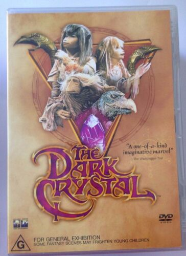 1 of 1 - THE DARK CRYSTAL  R4 DVD FREE POST