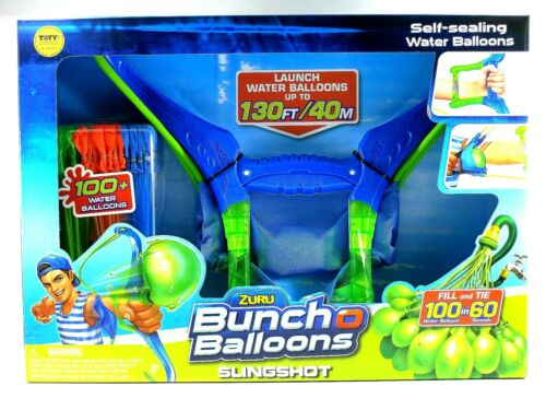 Zuru Bunch o Balloons Slingshot with 100 New /& Seal water balloons NEW IN BOX