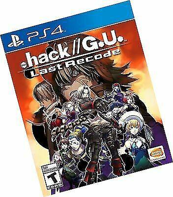 hack//G U  Last Recode (Sony PlayStation 4, 2017) for sale online | eBay