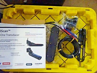 Lowrance TotalScan All-In-One Skimmer Transducer 000-12568-001