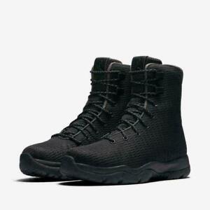 Nike-Air-Jordan-Future-Boots-Waterproof-Triple-Black-854554-002-Men-039-s-NEW