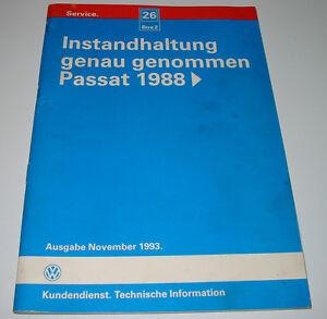 Instandhaltung-genau-genommen-VW-Passat-Typ-35i-B3-ab-Baujahr-1988