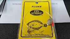 1 Fin Strike Fluke 2/0 Mustad Nickel English Spinner Rig #555 DISCOUNTS-REA