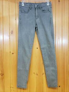 American-Eagle-Super-Stretch-Hi-Rise-Jegging-Jeans-Women-039-s-Size-4-Reg