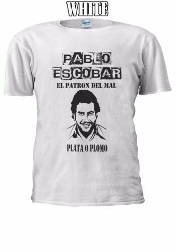 Pablo Emilio escobar Gaviria drug t-shirt débardeur tank top hommes femmes unisexe 2536