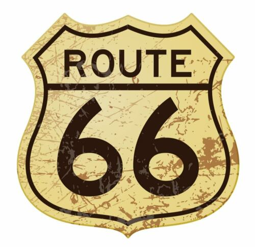RT ROUTE 66 SIGN STICKER 3M VINYL MADE IN USA BUY 2 GET 1 FREE!