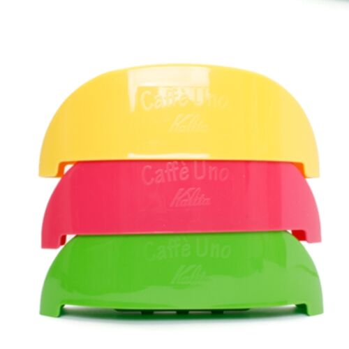 pink green Kalita Coffee Dripper 101 Cafe Uno 3 colors for 1-2 person yellow