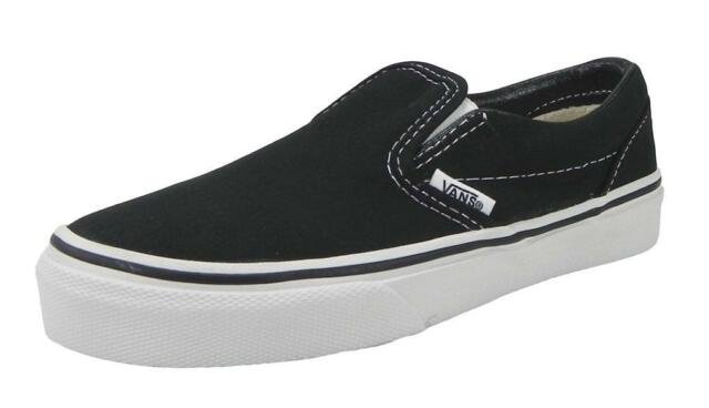 vans slip on shoes boys