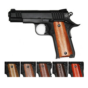 Details about DURAGRIPS - Rock Island Armory Baby Rock 380 Exotic Hard wood  CNC Grips - SMOOTH