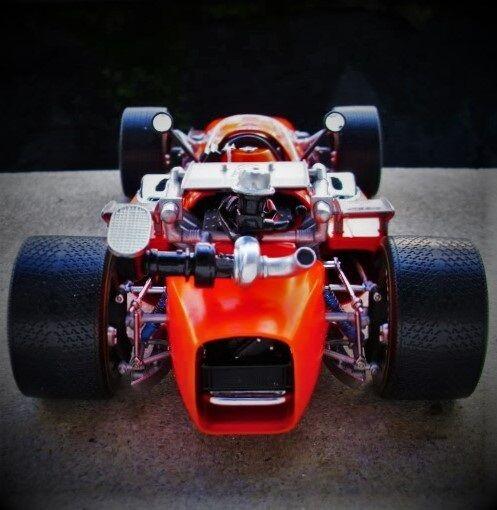 Coche De Carrera Ferrari Grand Prix F 1 18 Vintage 64 1960s 24 concepto 43 fórmula 12