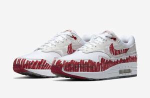 Details about 2019 Nike Air Max 1 Sketch To Shelf SZ 10 White Uni Red Tinker OG CJ4286 101