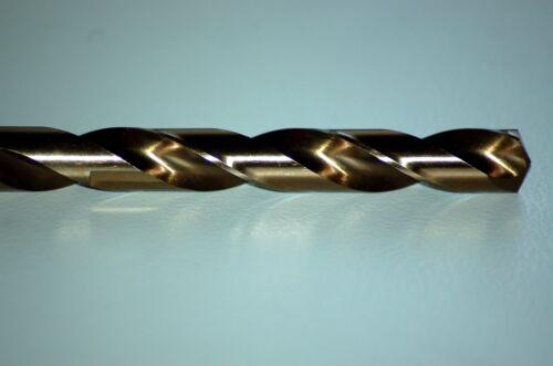 5X 9,0mm  HSS-E Co Cobalt Bohrer Spiralbohrer Industriequalität für Metall