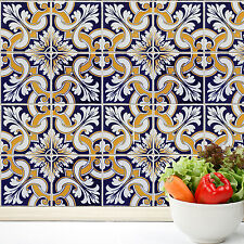 Home Decoration Self Adhesive Wall Stickers - Talavera Tiles