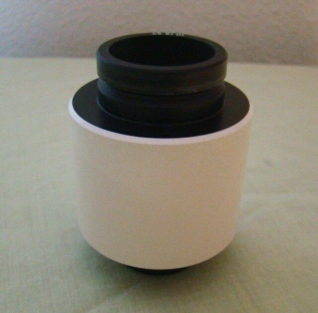 Zeiss 1 x  C Mount  Microscope Camera Adapter 45 61 01