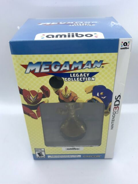 Mega Man Legacy Collection: Collector's Edition (3DS, 2016) FACTORY SEALED!