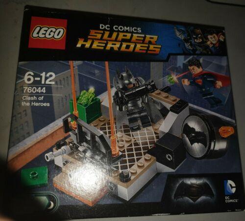 Lego DC Super Heroes Batman Clash of the Heroes 76044 New superman,light brick