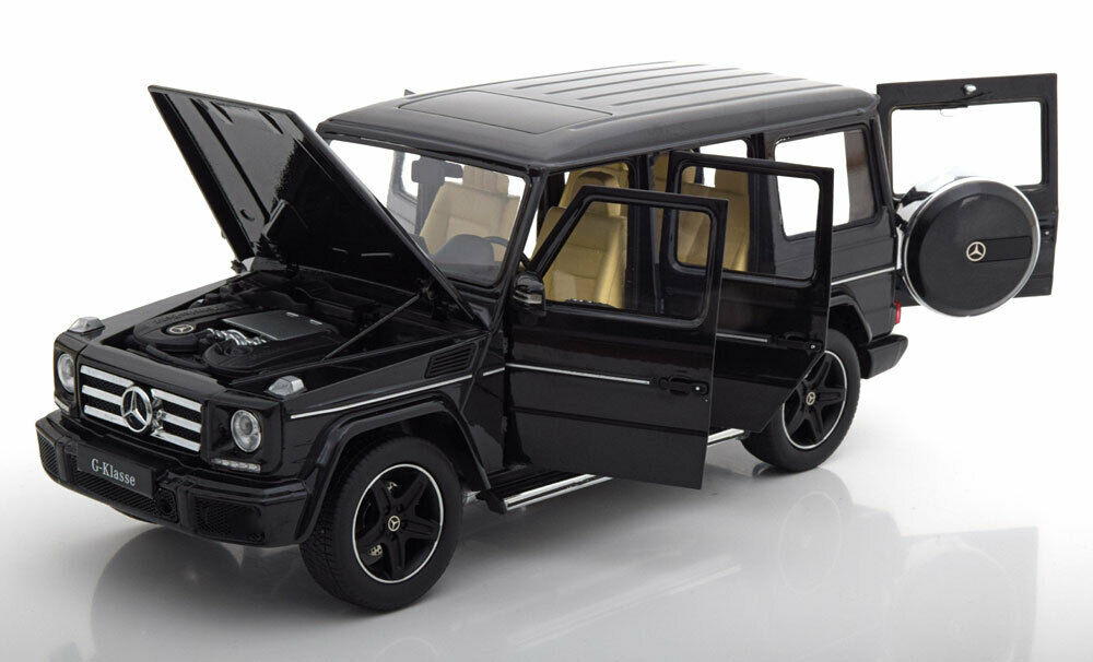 I Scale 2015 Mercedes Benz G-Klasse W463 Obsidian Black 1 18 Scale New LE of 499