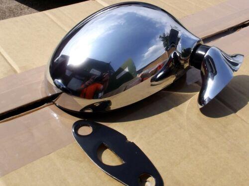 Chrome r // h porte miroir Mazda MX5 Mk1 1.6 1.8 main droite 89-98 Eunos MX-5 NOUVEAU