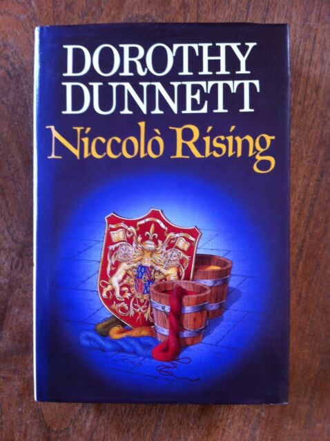 NICCOLO RISING by Dorothy Dunnett (Hardback, 1986)  1st/1st   SIGNED AND DATED