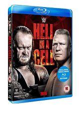 WWE Hell in a Cell 2015 [Blu-ray] *NEU* Brock Lesnar vs The Undertaker Region B
