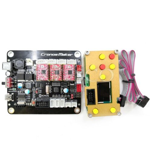 GRBL Laser Controller Board 3Axis Stepper Motor USB Driver Board+1.8 Inch LCD xs