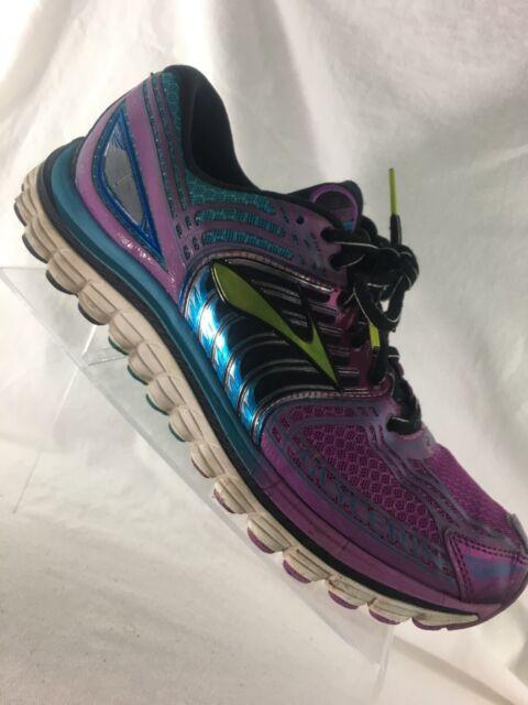 2fc30a692d4 Brooks Glycerin 12 Womens Running Shoes Purple Blue Black Green Size 11 B