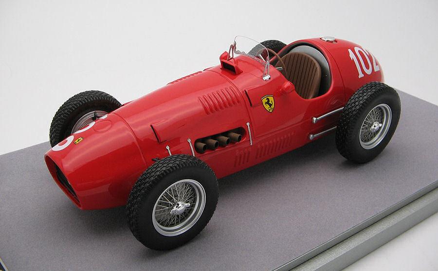 Ferrari 500 F2  102 Nurburgring Gp 1952 N. Farina 1 18 Model TECNOMODEL