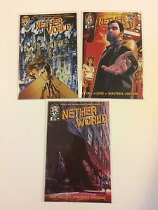 Run-of-3-Netherworld-1-2-3-Top-Cow-Comics-2011-VF-NM