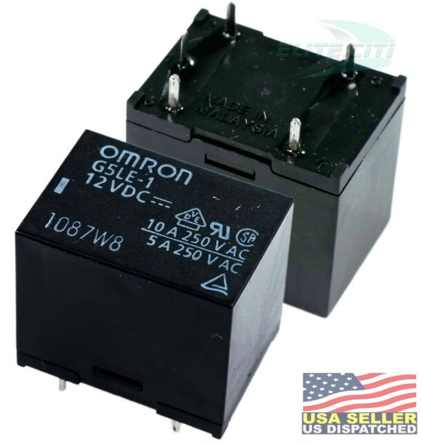 Omron G5le-1-e Dc12 Power Relay for sale online | eBay on omron sensor, idec 12v relay, phoenix contact 12v relay, tyco 12v relay, bosch 12v relay, omron contactor,