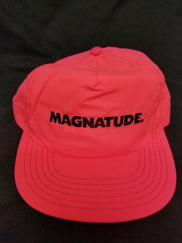Vintage Magnatude Neon Pink Trucker Hat