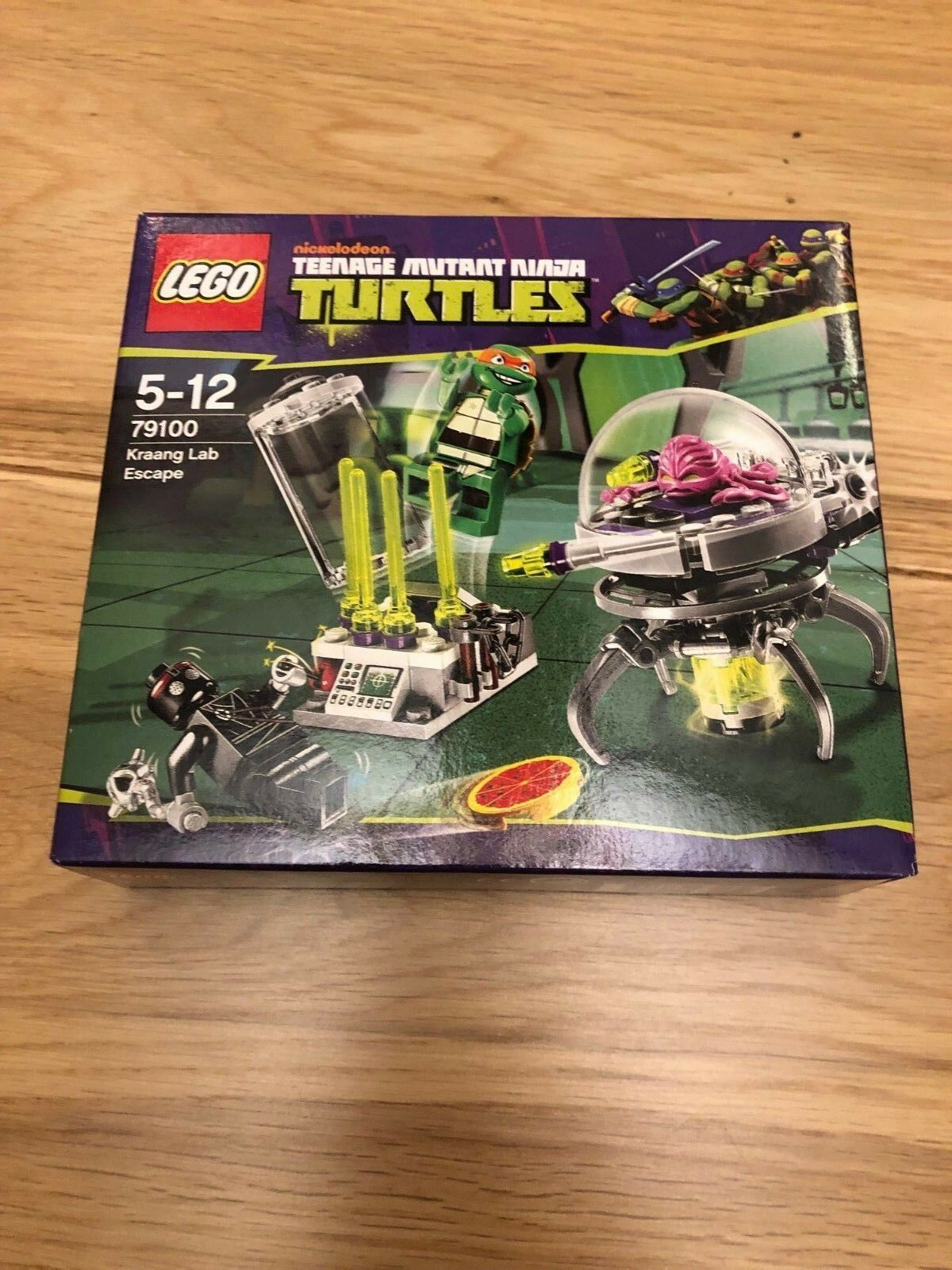 LEGO Teenage Mutant Ninja Turtles Kraang Lab Escape (79100) BRAND NEW AND SEALED