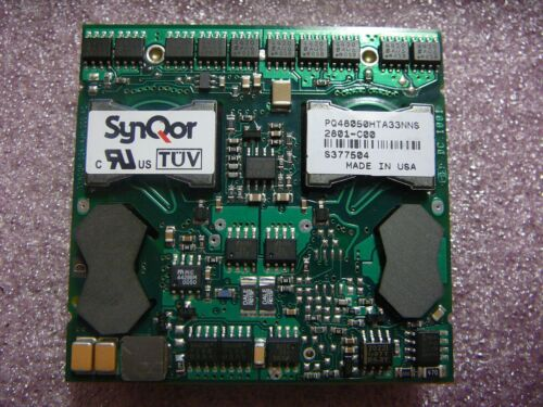 SYNQOR 33 Amp No Heatsink Isolated DC//DC Converter PQ48050HTA33NNS  *NEW* 1//PKG