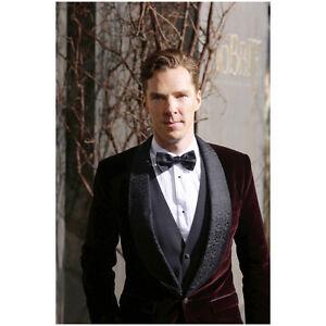 5f6224d4025 Image is loading Benedict-Cumberbatch-in-Red-Velvet-Tuxedo-Jacket-Bowtie-