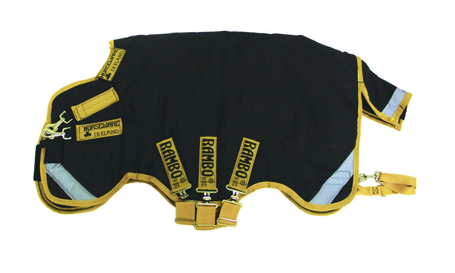 Horseware Ireland Rambo Supreme Turnout Blanket 0g Fill Waterproof