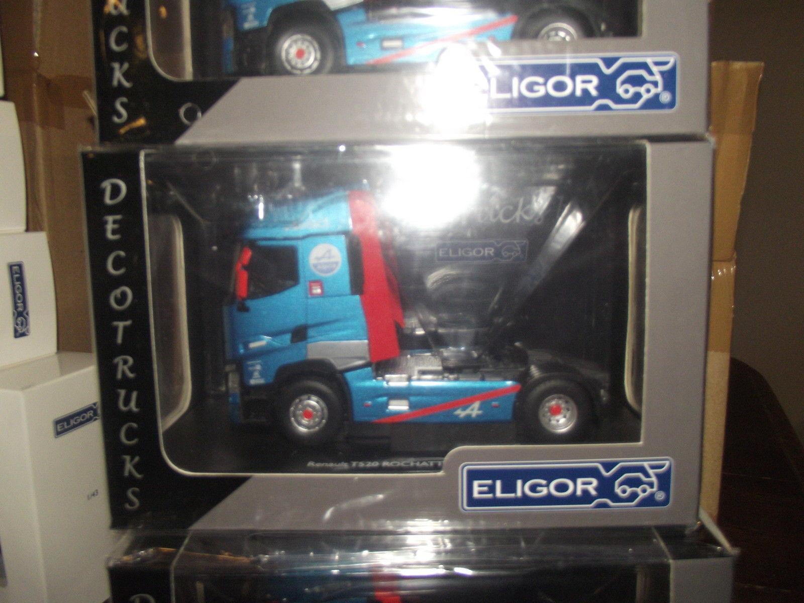 Tractor Renault T520 Alpine Rochatte Transportes Eligor 115739
