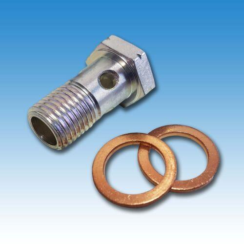 Hohlschraube con anillos cerrados herméticamente para combustible tubería holder a 10 a 12 a 15 a 16