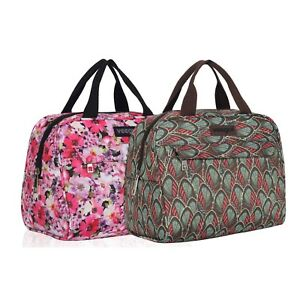 Couple Meal Prep Tote Men Women Office Thermal Insulated Lunch ... 767c3f7d91fd1